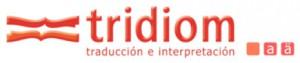 Logo Tridiom traducción e interpretación